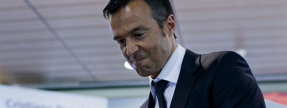 Jorge Mendes le manda un recadito a Mino Raiola con el Madrid de fondo tras colocar a Bernardo Silva