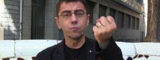 El brutal puñetazo de Monedero a un alumno por fumar en los pasillos de la Facultad