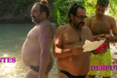 'Supervivientes': Bigote Arrocet y Juan Miguel pasan hambre y se están quedando en los huesos