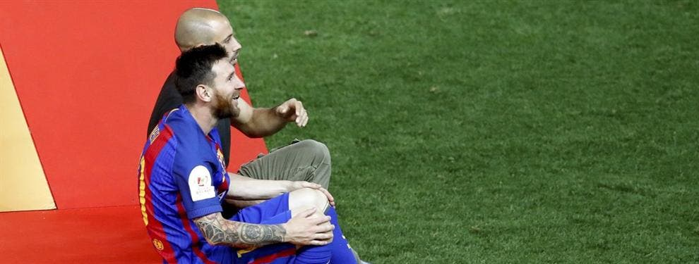 La confesión (con sorpresa) que le hizo Mascherano a Messi tras la final de Copa