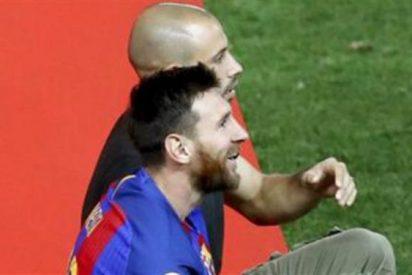 La sorpresiva confesión que le hizo Mascherano a Messi en la final de la Copa del Rey