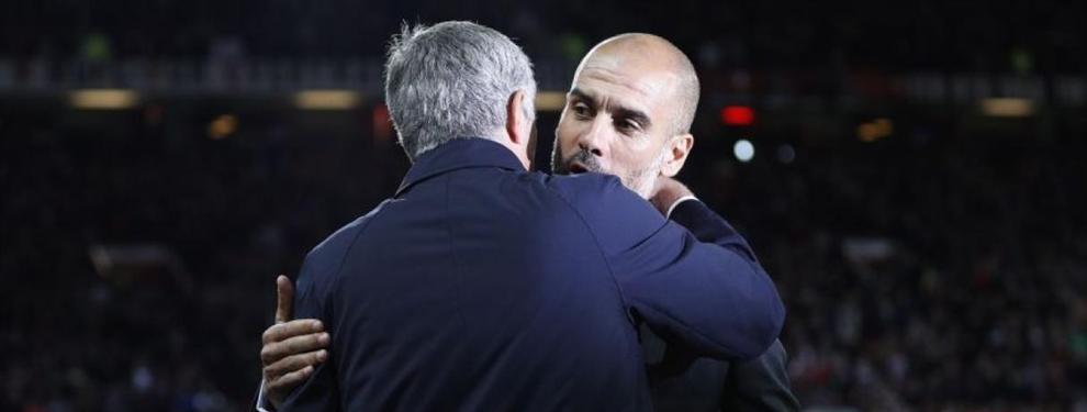 La última batalla entre Guardiola y Mourinho: se fijan en un objetivo que también comparte el Barça