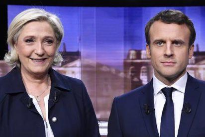"Macron a Marine Le Pen: ""Usted propone un proyecto de guerra civil"""