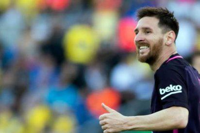 Leo Messi salva el cuello a un jugador del Barça en la victoria ante Las Palmas