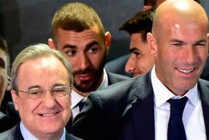 Los tres regalos de Florentino Pérez a Zidane (y un mensaje 'con bala' al vestuario)