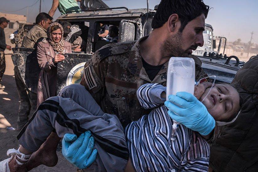 ¡Top Secret! Un bombardeo de EEUU mató a más de cien civiles en Mosul