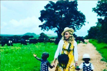 Madonna, criticada por publicar imagen de su hija con letrero de cocaína