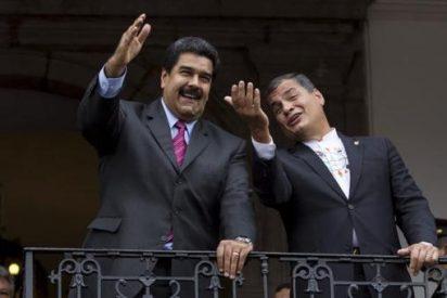 El bolivariano Correa se desmarca del chavismo y pide elecciones en la aliada Venezuela