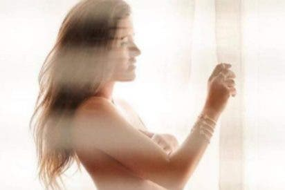 Malena Costa se hace un desnudo integral al estilo Demi Moore