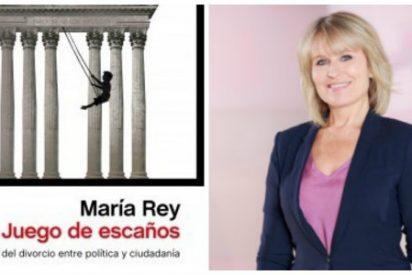 """María Rey: """"El salario de los parlamentarios españoles no es alto por mucho que se diga"""""""