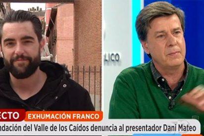 Tenso rifirrafe entre Dani Mateo y Cayetano Martínez de Irujo a cuenta del humor macabro sobre Franco