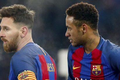 Messi amenaza con irse del Barça por un ataque de celos con Neymar