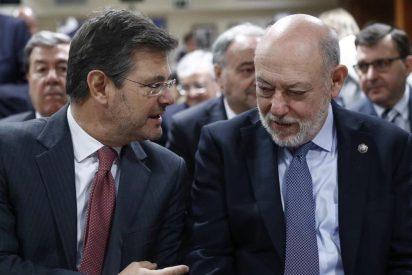 El pleno del Congreso de los Diputados reprueba al ministro de Justicia, Rafael Catalá