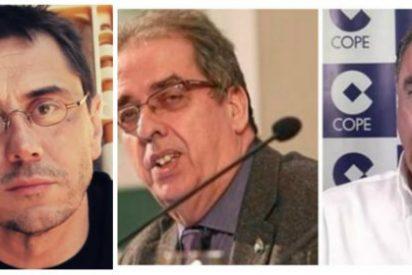 """Carlos Herrera y Santiago González masacran al """"miserable"""" Monedero"""