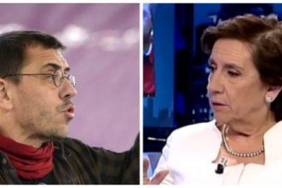 El nauseabundo ataque de Monedero contra 13TV y a Prego por repudiar la dictadura de Nicolás Maduro