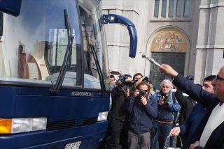 Monseñor Chomali inaugura el 'albergue móvil' para los sin hogar chilenos de Concepción
