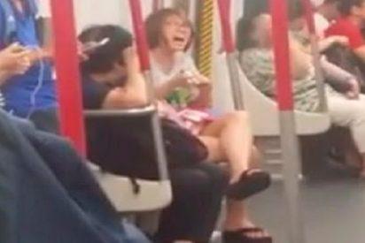[VÍDEO] Mujer pierde el control cuando su móvil se queda sin batería