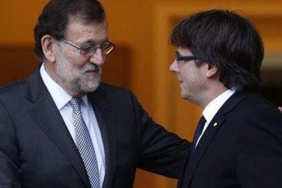 Rajoy reta a Puigdemont en el Congreso y el independentista 'se caga'