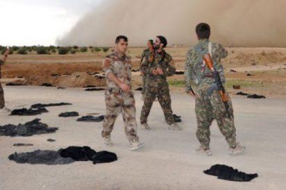 Niqabs fuera: la foto que sintetiza la derrota de los fanáticos del ISIS