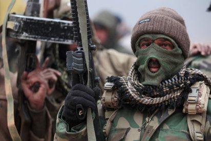 [VÍDEO] El valiente soldado que arriesga su vida para salvar a una mujer de las garras del ISIS