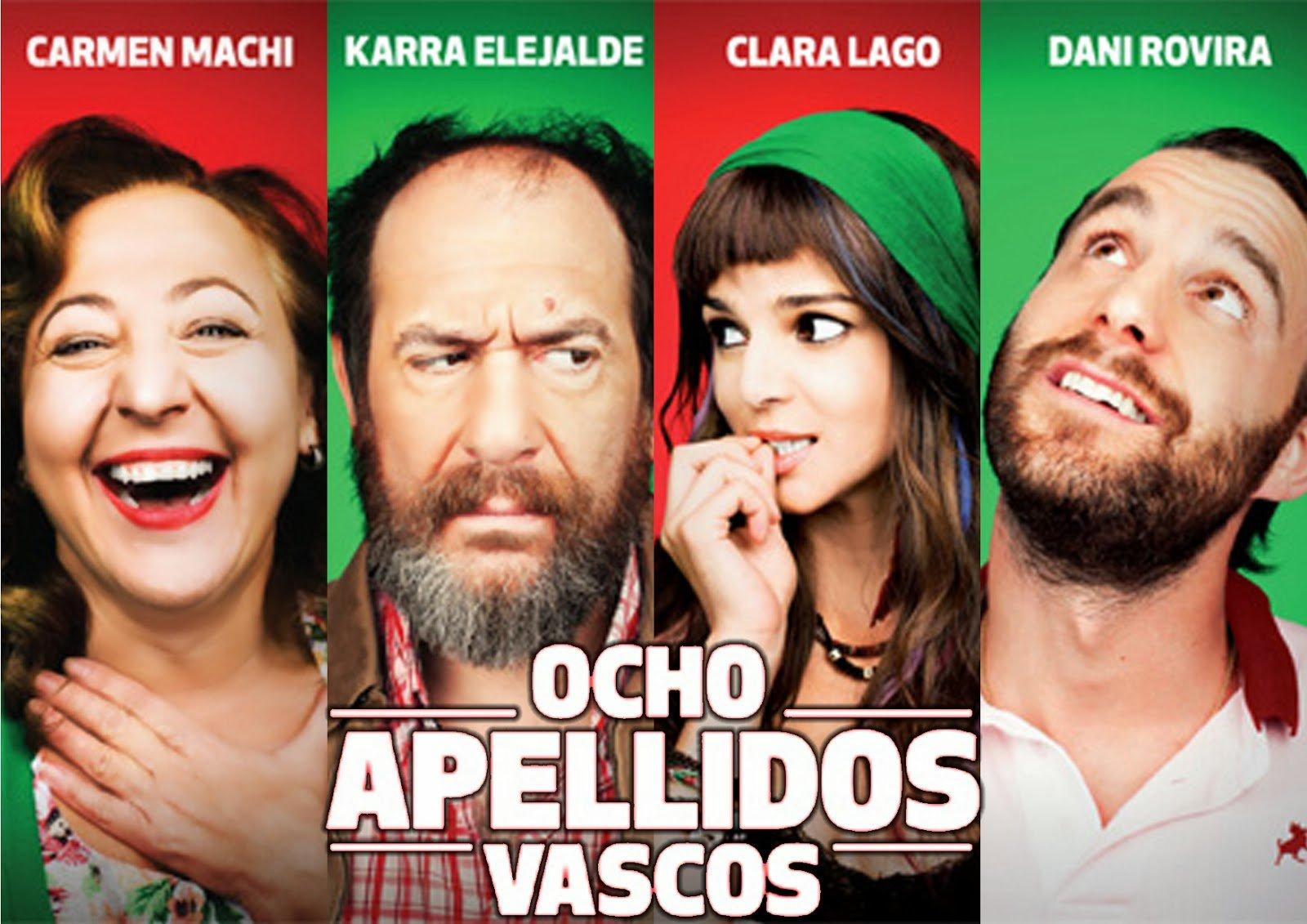 Festival Vasile: '8 apellidos vascos' lidera en Telecinco sobre 'Tu cara no me suena'