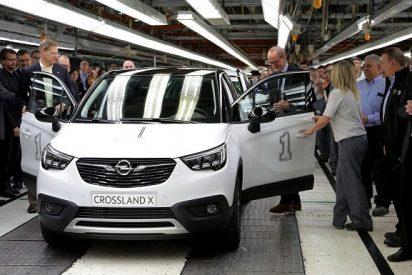 Opel arranca la producción del Crossland X en Zaragoza