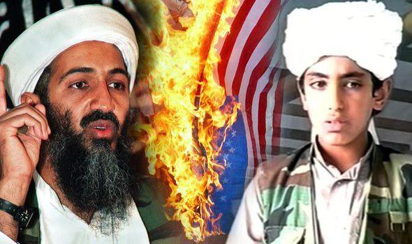 """El censurado vídeo del rabioso hijo de Bin Laden animando a """"atacar la yugular del enemigo"""""""