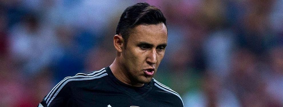Otro examen: La 'bronca' que casi hace estallar a Keylor Navas antes del partido contra el Granada