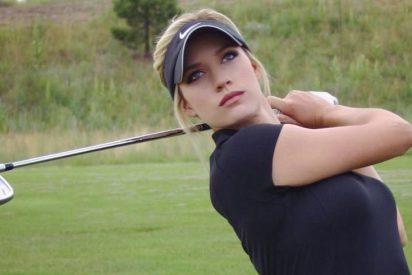 Filtran fotos desnuda de la golfista más célebre de Instagram