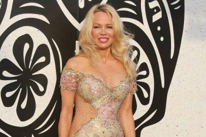 Pamela Anderson y su noche loca en Marbella