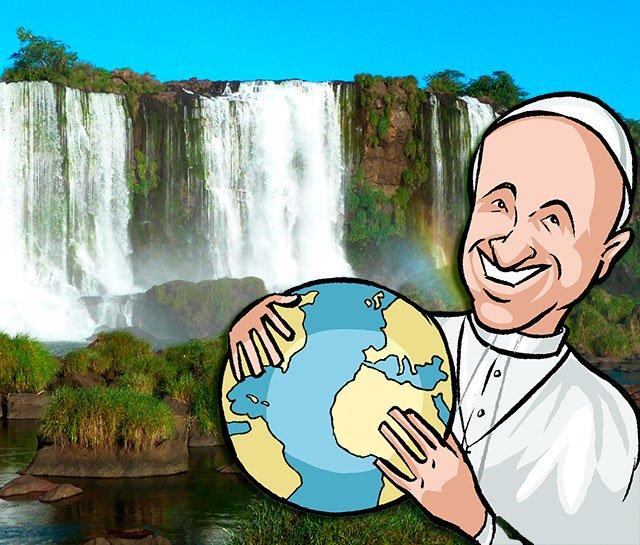"""El Papa se pone en plan 'Greta Thunberg' y planea ahora meter en el catecismo católico """"el pecado ecológico"""""""