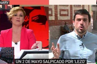 """El 'zasca' de Cristina Pardo al quejoso Espinar: """"El próximo día te vas a La Tuerka"""""""