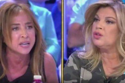 Terelu Campos y María Patiño rompen su amistad por culpa de Carmen Borrego