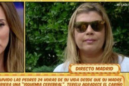 Lágrimas y arrepentimiento de María Patiño ante el dolor de Terelu Campos