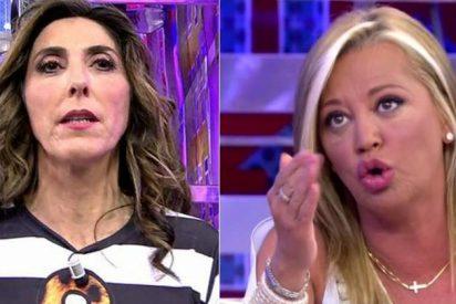 """Paz Padilla llama """"tonta"""" a Belén Esteban y estalla la guerra en Telecinco"""