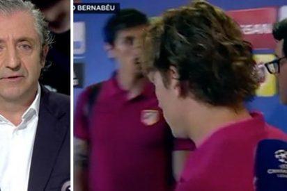 """Pedrerol se indigna con el """"director de in-comunicación"""" del Atleti por cortar una entrevista a Griezmann en directo"""