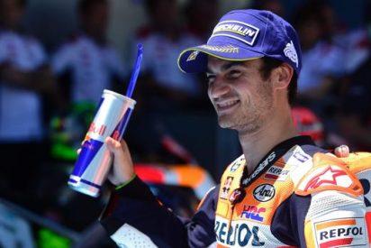 Pedrosa se exhibe y confirma el triplete español en Jerez; Márquez y Lorenzo completan el podio