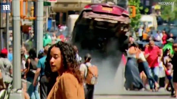 El terrible vídeo del coche de la muerte aplastando a los viandantes en Times Square