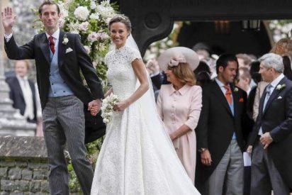 Pippa Middleton ya es la señora de James Matthews