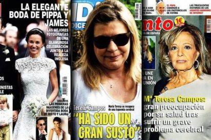 Risto Mejide y Laura Escanes son expulsados a patadas de las portadas por Pippa y las Campos