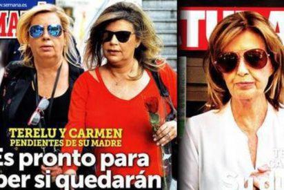 La revista 'Lecturas' no deja de dar leña a las Campos ni en la enfermedad