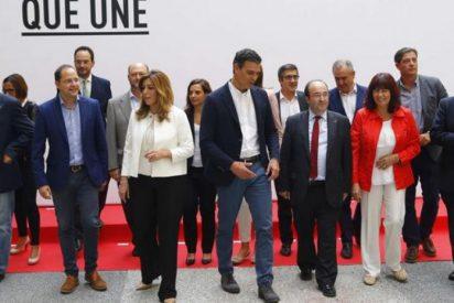 PSOE: un vencedor, muchos vencidos y al abismo