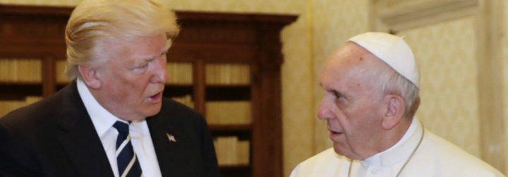"""La """"conversión"""" de Trump tras ver al Papa: aportará 300 millones a la lucha contra el hambre en África"""