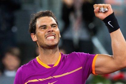 Un Rafa Nadal colosal invierte la historia y saca a pelotazos a Novak Djokovic