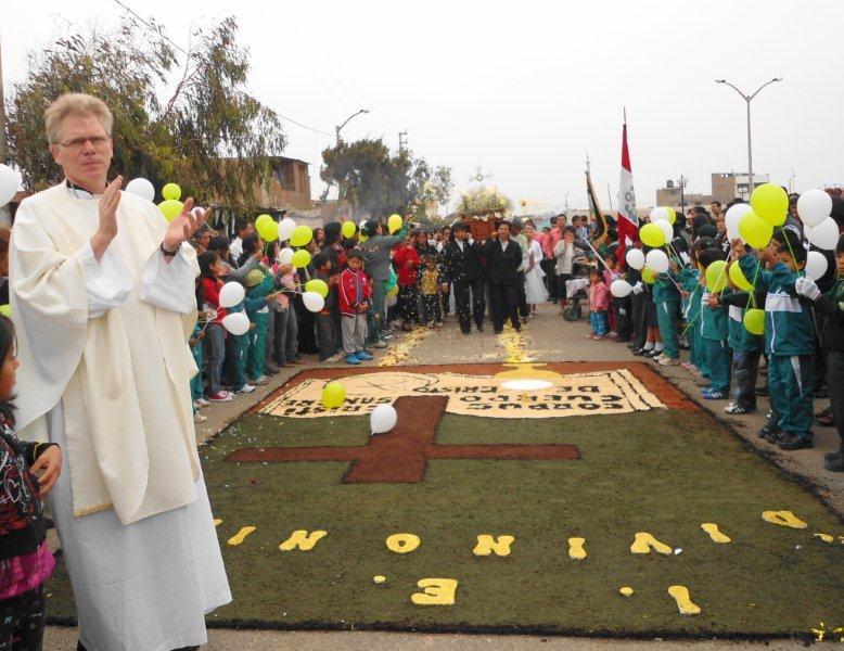 Reinhold Nann, obispo de la prelatura peruana de Carvelí