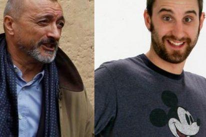 Pérez-Reverte coge por la solapa a Dani Rovira por pedir el actor perdón por un delito que no ha cometido