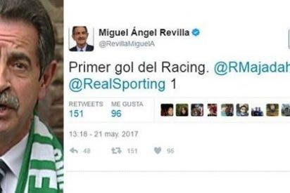 Patosada ridícula de Miguel Ángel Revilla en Twitter