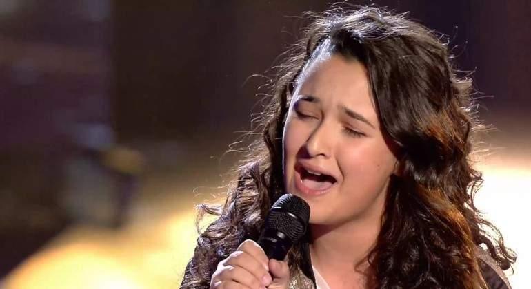 Rocío Aguilar se lleva a lo flamenco el triunfo en 'La Voz Kids'