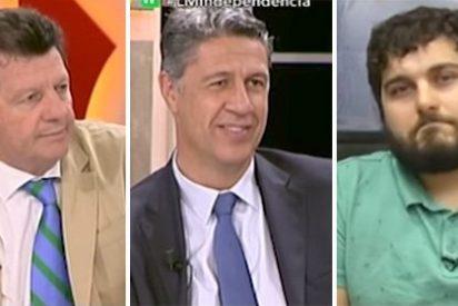 Formidable 'revolcón' a un independentista que se va con el referéndum entre las piernas