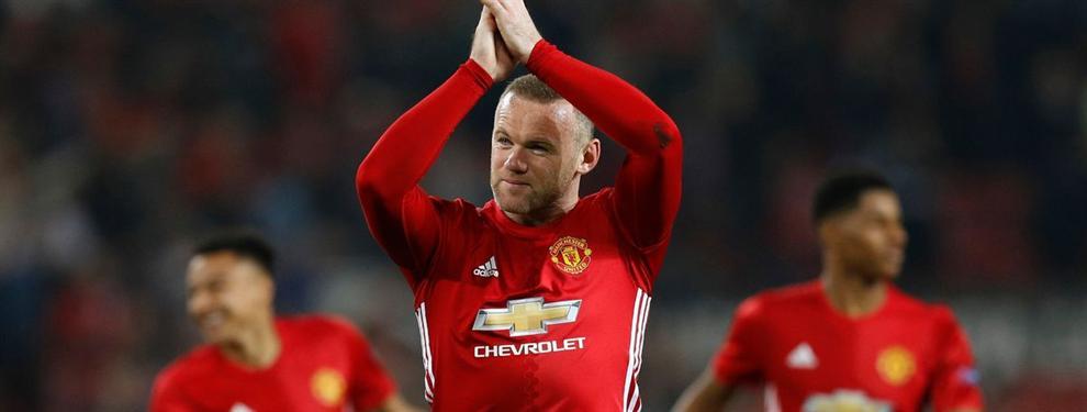 Rooney ya tiene nuevo equipo tras despedirse de Manchester United